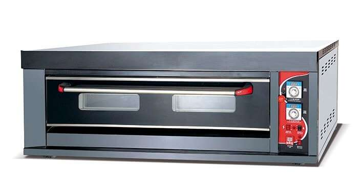 Oven Gas 1 Deck 3 Tray
